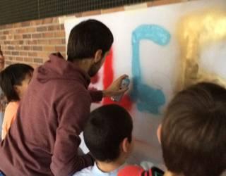 Grafiti tailerra egingo dute Elgetako gaztelekuan aste bukaeran