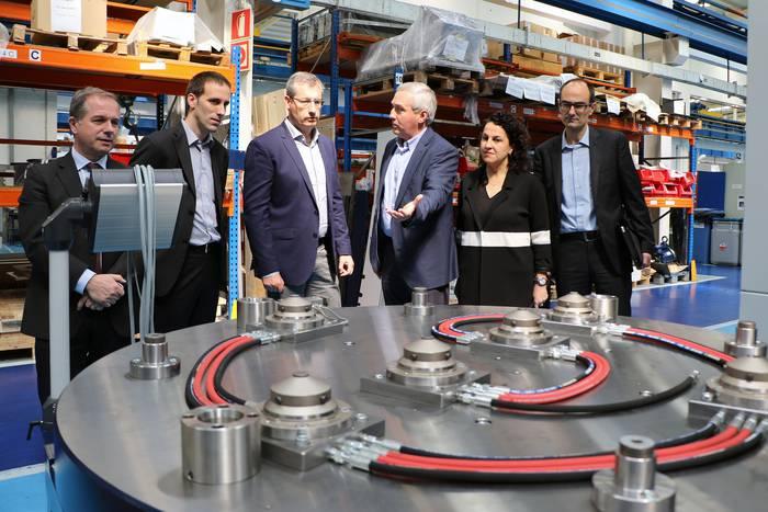 4.0 Industriaren eredu gisa ipini du ahaldun nagusiak Danobat kooperatiba
