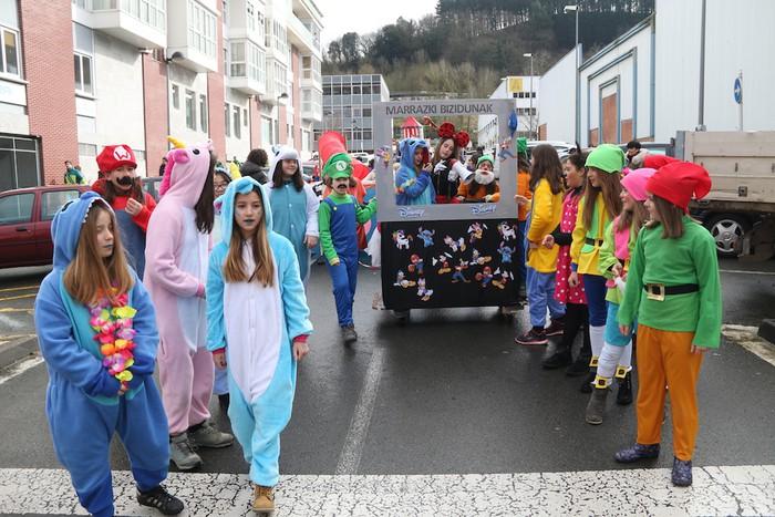 Inauterietako desfilea Aretxabaletan - 28