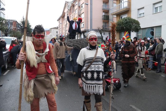 Inauterietako desfilea Aretxabaletan - 48