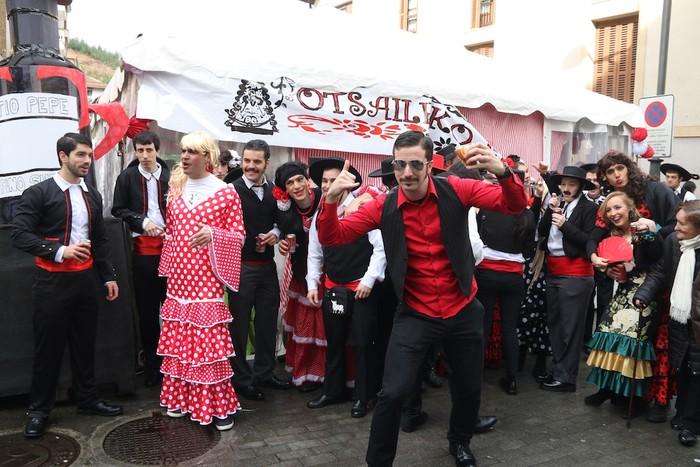 Inauterietako desfilea Aretxabaletan - 23