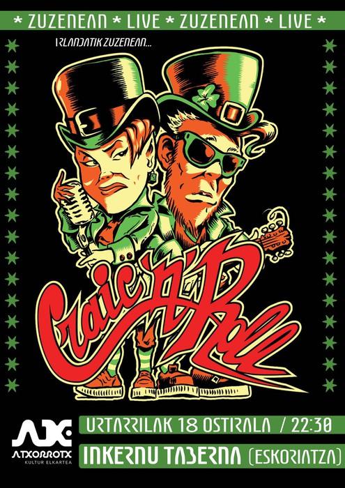 'Craic 'N' Roll' taldearen kontzertua