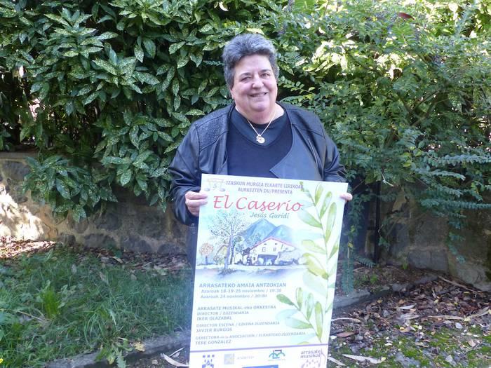 """Tere Gonzalez (Izaskun Murgia Elkarte Lirikoko zuzendaria): """"Oso gurea, herrikoia, da 'El Caserio' zarzuela"""""""