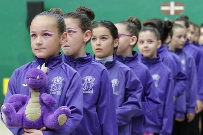 Ikasturte amaierako erakustaldia egin dute arrasateko gimnastek