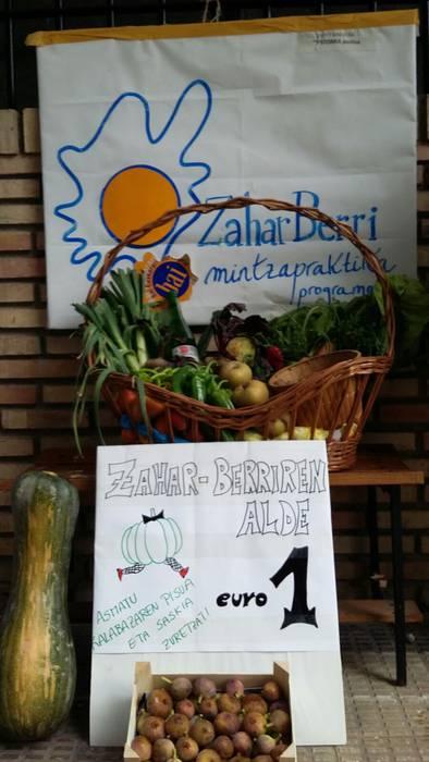 Iban Barrrutiabengoa izan da Zahar-Berriren aldeko kalabazaren pisura gehien gerturatu dena
