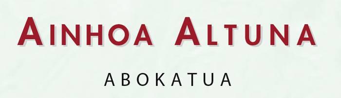 Altuna Gabilondo Ainhoa abokatua
