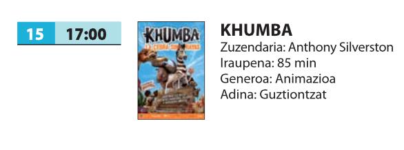 Zinema: 'Khumba'