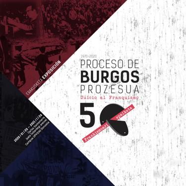 'Burgosko prozesua. 1970-2020' erakusketa