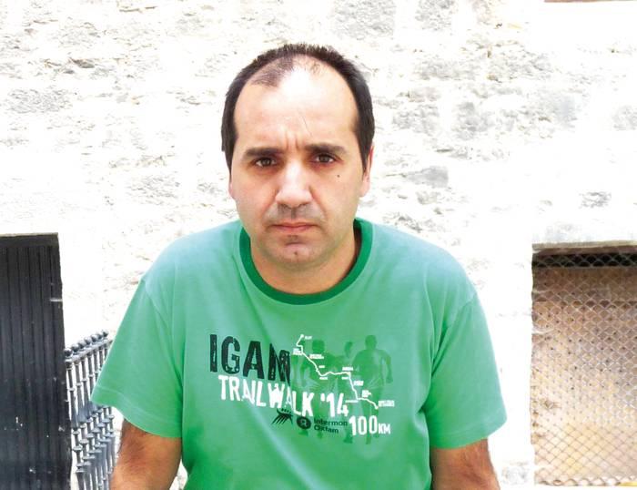 """Txus Iglesias: """"Dirua batzen laguntzea eta lasterketaz gozatzea da helburua, lehiaketa baino gehiago festa da-eta"""""""