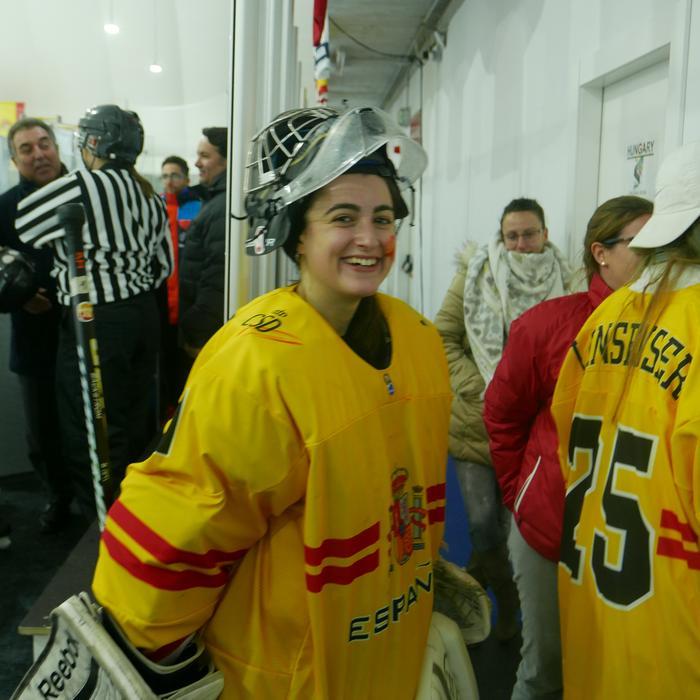 Ione Oyanguren erabakigarria izan da Espainiako hockey selekzioko garaipenean