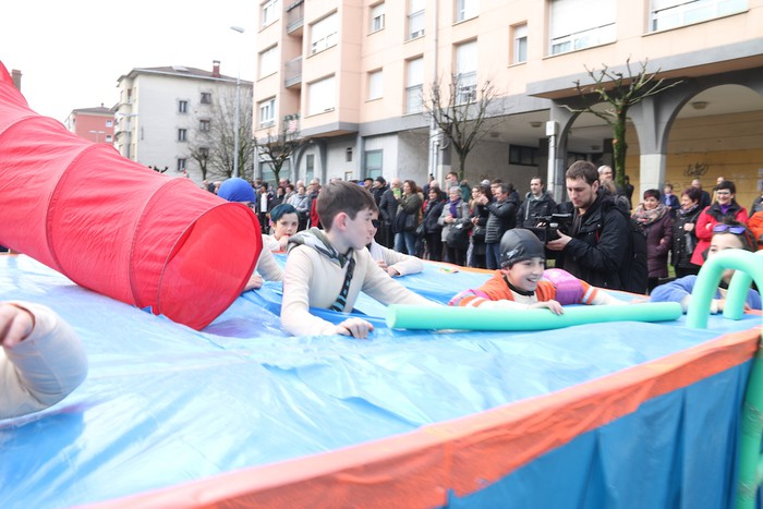 Inauterietako desfilea Aretxabaletan - 34