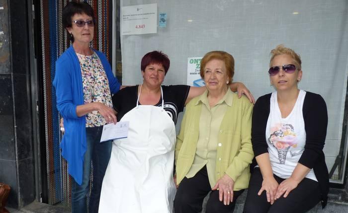 Gabina Lopez de Armentiak jaso du 'Ontziratu zaitez' ekimeneko azken saria
