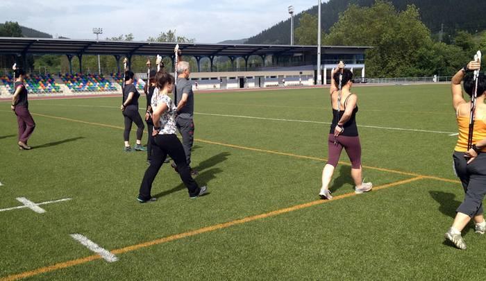 'Nordic walking' ikastaroa uztailean