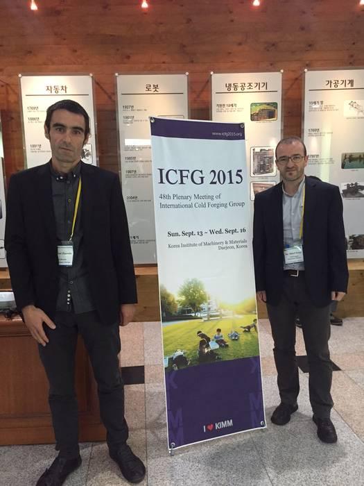ICFGko 2015 Plenary Meetinga emankorra Hego Korean