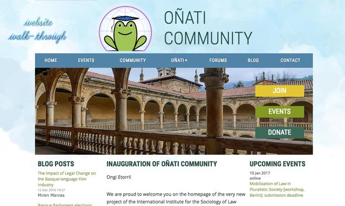 Oñati Community, Oñati munduan zabaltzeko beste bide bat
