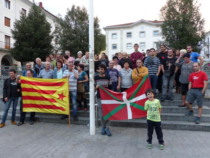 Kataluniarekin bat egin dute beste behin aretxabaletarrek