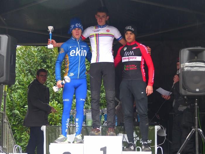 Ruiz de Larrinaga eta Lekuona garaile Arrasateko ziklo-krosean - 93