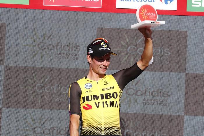 Esloveniar hegalariak hegan egin eta Vuelta hankazgora jarri du