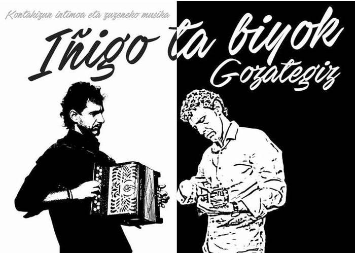 'Iñigo eta biyok Gozategiz' emanaldia zapatuan Oñatiko Gaztelekuan