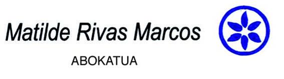 Rivas Matilde abokatua logotipoa
