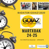 GOIAZ! LANBIDE HEZIKETAREN AZOKA 2020