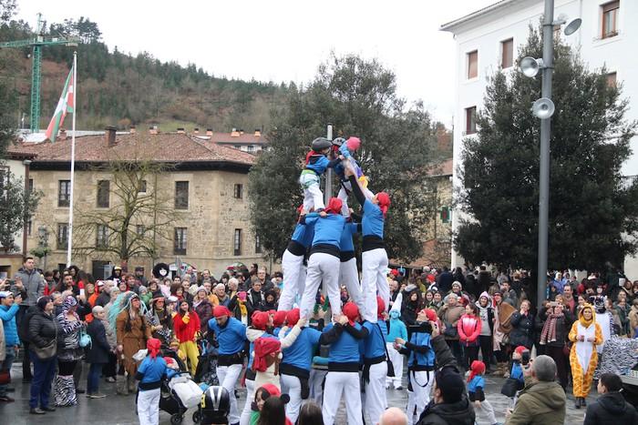 Inauterietako desfilea Aretxabaletan - 102