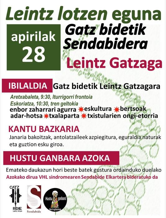 'Leintz Lotzen' eguna
