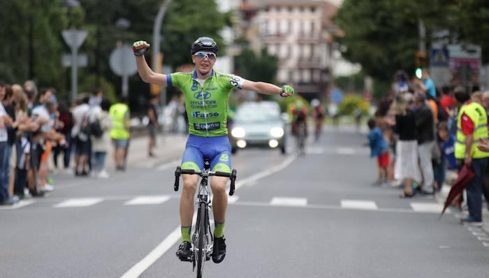 Bazpi taldeko Beñat Carbayedak irabazi du Olakuako 32. proba