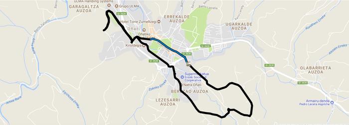 KLIKmetroak: Kilometroetako zirkuitu birtualak martxan darrai