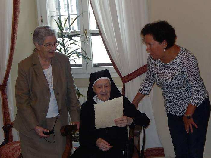 Guadalupe Mentxakak 100 urte bete ditu