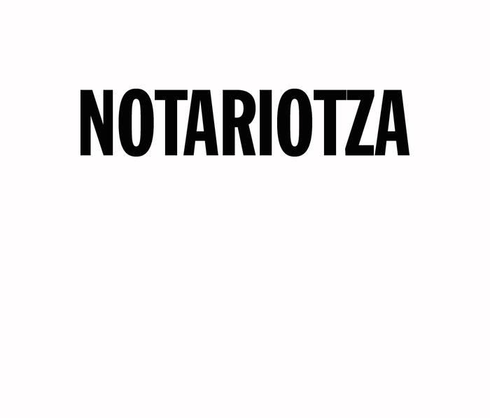 Notariotza logotipoa