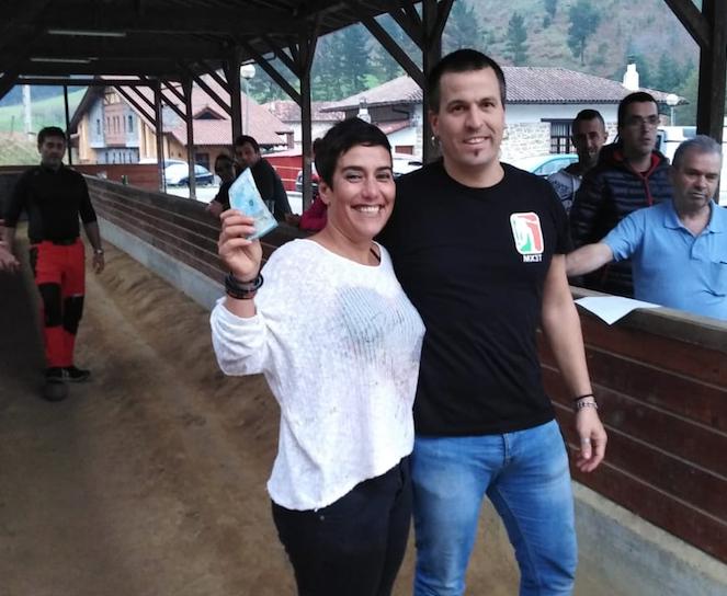 Olatz Jimenez garaile Euskal Herriko 29. hiru txirlo txapelketako lehen jardunaldian