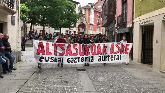 Altsasuko gazteen aurkako epaia dela-eta, mobilizazioa egingo dute Debagoienean