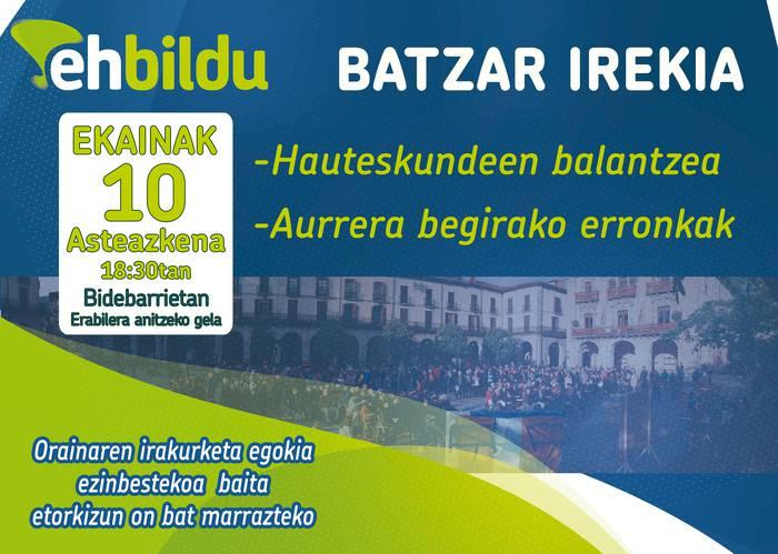 BATZAR IREKIA