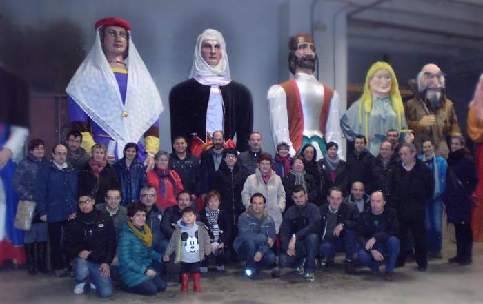 Zaharberrikoak eta Euskaltegietakoak kiliki eta buruhandiekin
