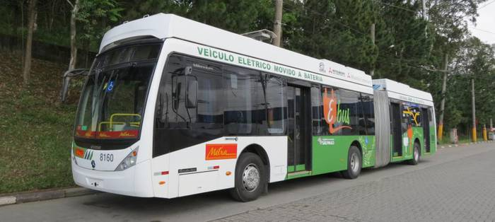 Martxan da bateriarekin dabilen lehenengo autobus elektrikoa