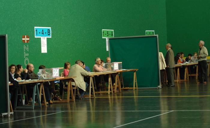 Europako hauteskundeetarako zentsuaren zerrenda ikusgai apirilaren 7tik 14ra, Arrasateko BAZen