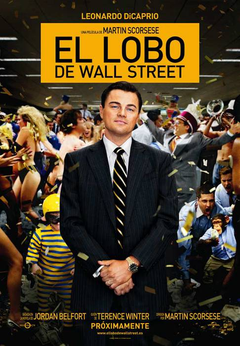 'El lobo de Wall Street' filma
