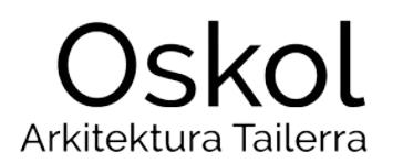 OSKOL ARKITEKTURA TAILERRA logotipoa