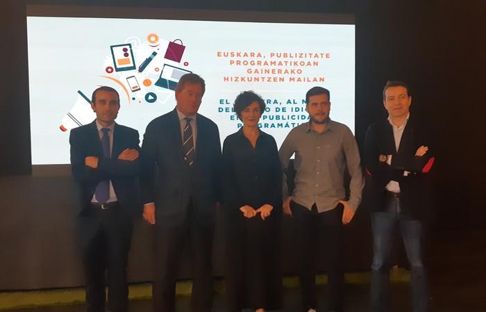 Publizitate programatikoa euskaraz egiteko aukera emango duen 'Euskal PMP' ekimena aurkeztu dute