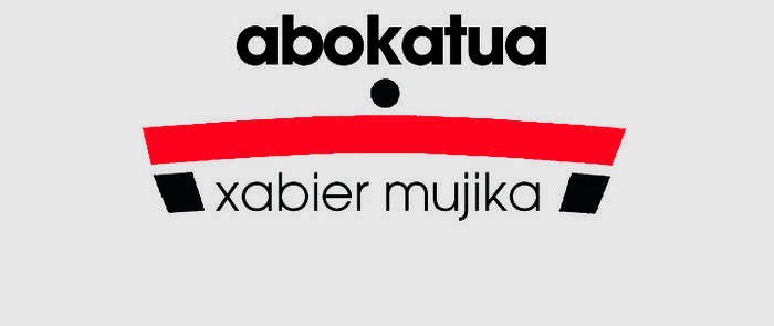 Mujika Xabier abokatua logotipoa