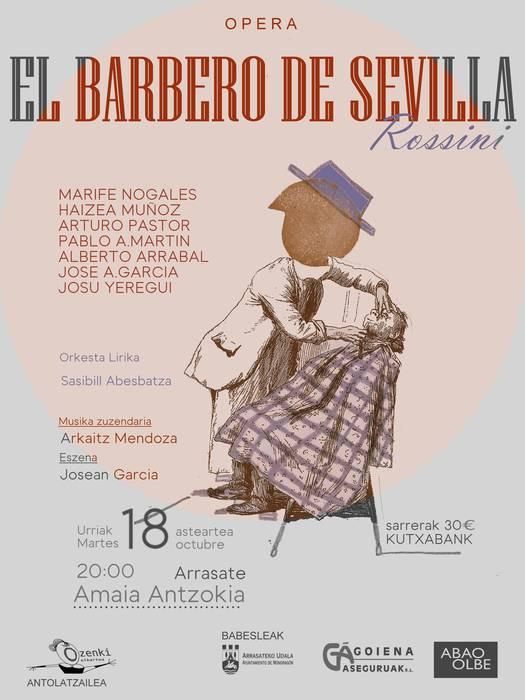 """""""El Barbero de Sevilla"""" opera"""