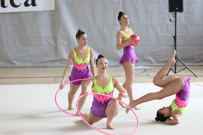 Maila bikaina gimnasia erritmikoko txapelketan - 6