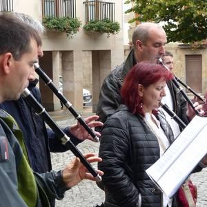 Leintz bailarako Txistulariaen Eguna argazkitan