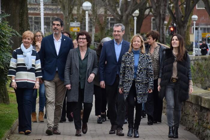 EAJ-PNVk Donostia berdinzalearen aldeko konpromisoa berretsi du