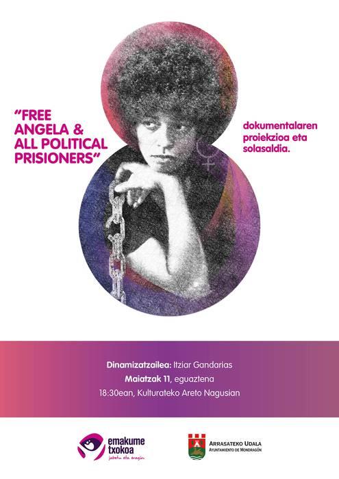 'Free Angela Davis & All political prisioners' dokumentala, Kulturaten