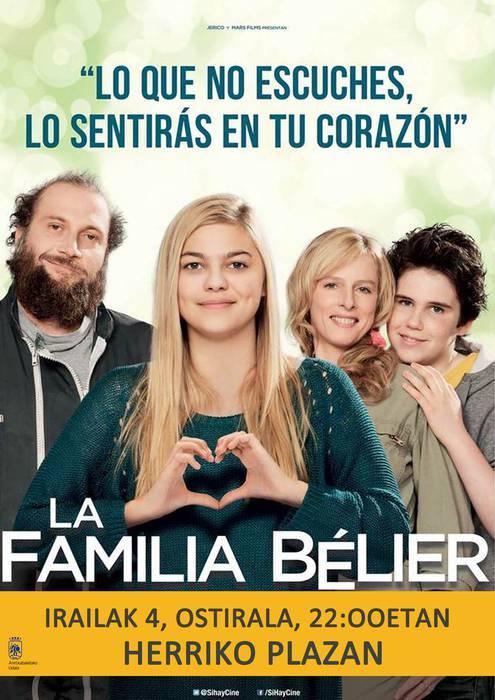 'La familia Bélier' filma Herriko Plazan