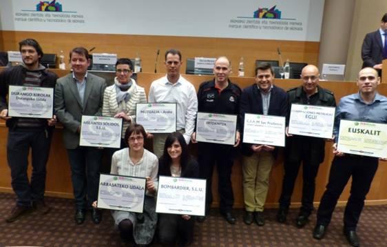 Euskalitek 'Arloko Diploma' eman dio Gazte Bulegoari 5Sen ezarpenagatik