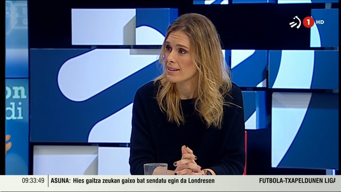 """Mireia Zarate: """"Nik ere greba egingo dut Martxoaren 8an"""""""