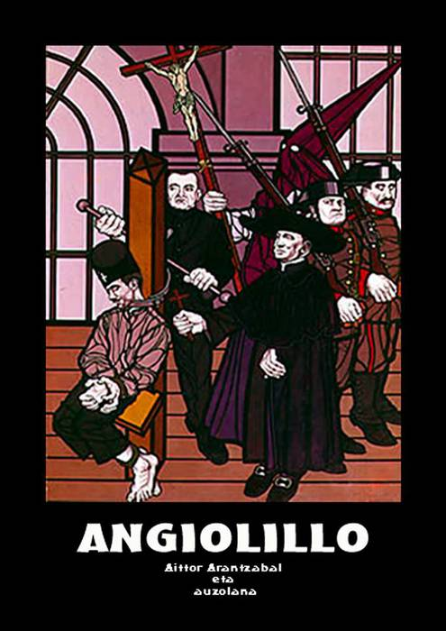 'Angiolillo' liburua muntatzen hasi dira